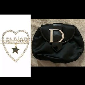 Authentic Dior Clutch w/gift